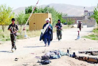 افغانستان: فوجی یونیفارم میں ملبوس طالبان کا جیل پر حملہ' 4 پولیس اہلکار ہلاک' 400 قیدی چھڑا لئے
