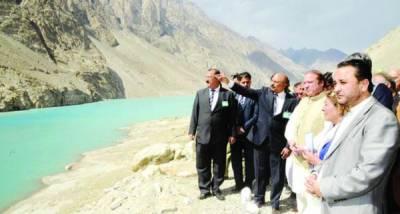 عطا آباد: ''پاکستان چین دوستی ٹنلز'' کا افتتاح: ترقیاتی منصوبوں میں کوتاہی برداشت نہیں : نوازشریف