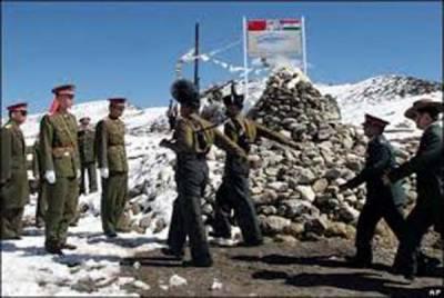 لداخ کے بروٹس سیکٹر میں بھارت اور چین کی فوجوں میں کشیدگی بڑھ گئی