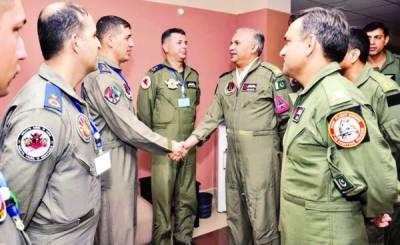 پاکستان اور ترک فضائیہ کی مشترکہ فضائی مشق ختم، جنگی صلاحیتوں کا مظاہرہ