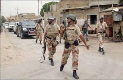 کراچی: حساس اداروں' رینجرز کے چھاپے' کمانڈر سمیت داعش' طالبان کے 14 دہشت گرد گرفتار