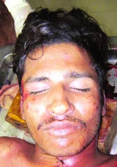 ساندہ : نوجوان کی پراسرار ہلاکت نعش گھر سے کچھ دور سڑک پر ملی