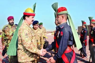 قوم کو فوج پر غیر متزلزل اعتماد ہے' توقعات پوری کرینگے: آرمی چیف