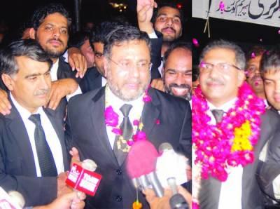 سپریم کورٹ بار الیکشن: عاصمہ جہانگیر گروپ کے علی ظفر صدر، حامد خان کے اسد منظور سیکرٹری منتخب