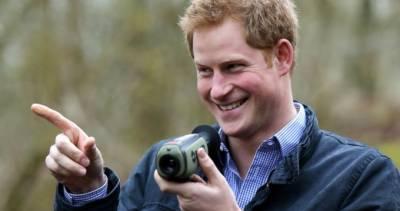 برطانوی شہزادہ ہیری معذور فوجیوں کا باسکٹ بال میچ دیکھنے پہنچ گئے
