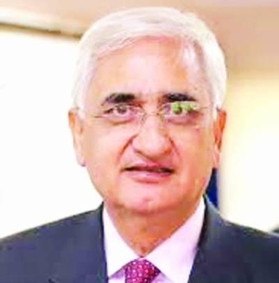 بھارت امن کیلئے پاکستان کی دوستانہ کوششوں کا جواب نہیں دے رہا: سلمان خورشید