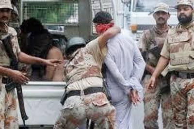 کراچی: دھماکہ خیز مواد رکھنے کے کیس میں 2 مجرموں کو 31 سال قید، 2 متحدہ کارکنوں سمیت 5 ملزم رینجرز کے حوالے
