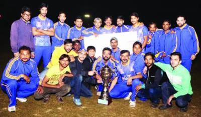 پنجاب گروپ آف کالجز کارپوریٹ آفس ملازمین کے درمیان کرکٹ ٹورنامنٹ