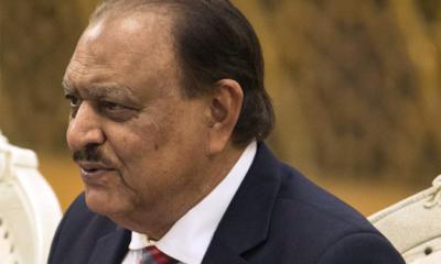 پاکستان کو ریاست کیخلاف کام کرنے والے عناصر سے شدید خطرات لاحق ہیں: صدر ممنون