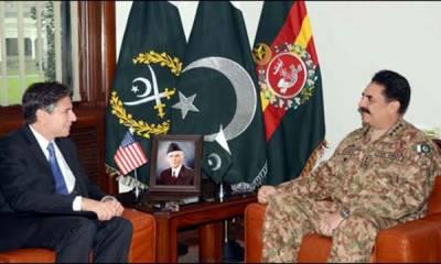 افغانستان میں پائیدار امن خطے کے استحکام کے لئے اہم ہے، مفاہمتی عمل پھر شروع کیا جائے: جنرل راحیل ، امریکی نائب وزیر خارجہ