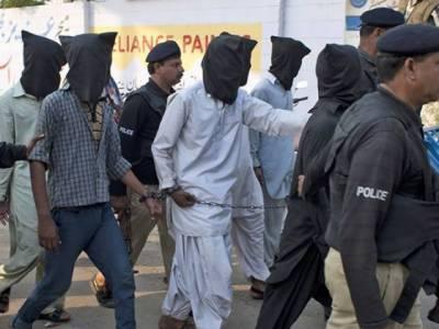 فیصل آباد، پشاور، اسلام آباد میں 4 ٹارگٹ کلرز سمیت 82 مشتبہ افراد گرفتار