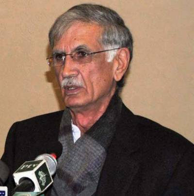 خیبر پی کے کا حصہ نہ ملا تو راہداری کو گزرنے نہیں دیں گے: پرویز خٹک، وفاق کو کمزور کرنے سے باز رہیں: زعیم قادری