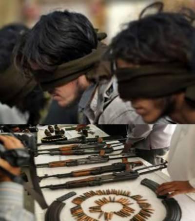 لاہور : تباہی کا منصوبہ ناکام' اسلحہ کی بڑی کھیپ پکڑی گئی' راولپنڈی' خیبر پی کے میں چھاپے' 115 دہشت گرد گرفتار