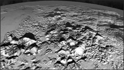ناسا نے سیارہ پلوٹو پرممکنہ برف فشاں کی تصاویر جاری کردیں