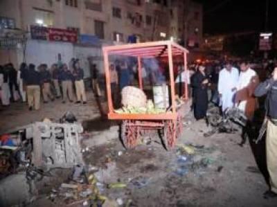کراچی: خاتون اور نوجوان کی نعشیں برآمد 'مجھ پر فائرنگ ہوئی سابق صوبائی وزیر جاوید ناگوری کا دعویٰ