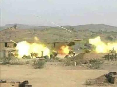 شوال اور دتہ خیل میں جیٹ طیاروں کی بمباری،17 دہشت گرد ہلاک
