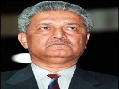 دہشت گردی میں غیرملکی ہاتھ ملوث ہیں: ڈاکٹر عبدالقدیر