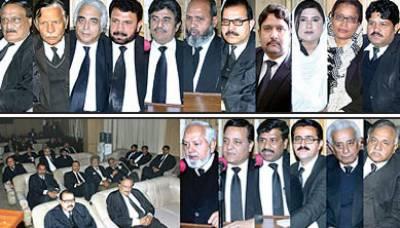 وکلا اور بارز حقیقی معنوں میں جمہوریت پر عمل پیرا ہیں: محمد علی گیلانی