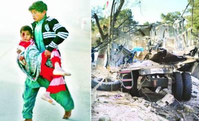 کوئٹہ: ایف سی ٹرک پر خودکش حملہ' 3 اہلکاروں سمیت 10 شہید' 40 زخمی