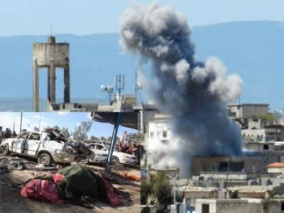 تیونس : لیبیا سے آنیوالے داعش کے جنگجوﺅں کا فوجی اڈے' پولیس سٹیشن پر حملہ' جھڑپ 50 ہلاک