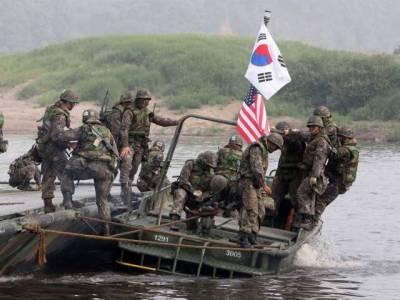 امریکہ' جنوبی کوریا کی فوجی مشقیں شروع' شمالی کوریا نے جوہری حملوں کی دھمکی دیدی