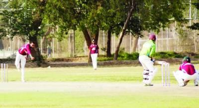 ساگا کپ : کرکٹ سنٹر کی ٹیم فائنل میں پہنچ گئی