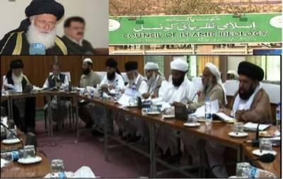 حقوق نسواں بل ہماری توثیق کے بغیر کیوں غیر اسلامی قرار دیئے' ارکان کی چیئرمین نظریہ کونسل پر تنقید