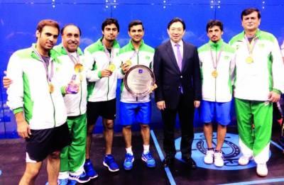 پاکستان نے ہانگ کانگ کو ہرا کر ایشین ٹیم سکواش چیمپئن شپ جیت لی