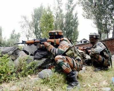 مقبوضہ کشمیر: بھارتی فوج کی فائرنگ' 5 نوجوان شہید' زبردست احتجاج