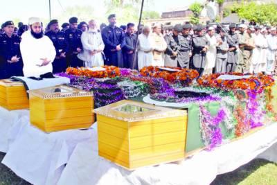 پشاور: گاڑی پر فائرنگ' ایف سی کا ڈسٹرکٹ افسر' ڈرائیور اور محافظ سمیت شہید