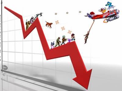 سٹاک مارکیٹ میں مندے کا رجحان انڈیکس82 پوائنٹس گر گیا