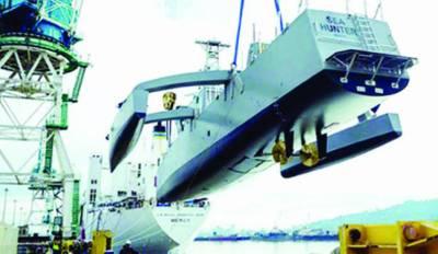 امریکہ:زیرزمین آبدوزوں کا سراغ لگانے والا خودکار روبوٹک جہاز سمندر میں اتار دیا گیا
