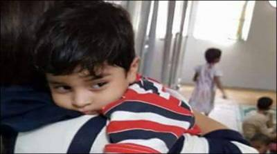کراچی: عبداللہ تیسری ملاقات میں بھی والد سے مانوس نہ ہوسکا