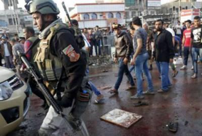 عراق: مارٹر حملہ' خودکش دھماکہ 4 بچوں سمیت 6 مارے گئے
