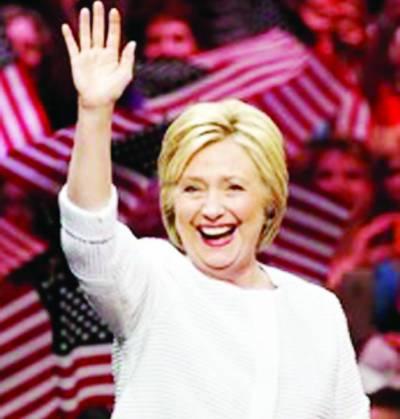 امریکہ میں نئی تاریخ رقم: ڈیمو کریٹک پارٹی نے ہلیری کو پہلی خاتون صدارتی امیدوار نامزد کر دیا