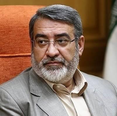 بیرونی مداخلت خطے کی بدامنی کی اصل وجہ ہے: ایرانی وزیرداخلہ