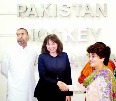 پاکستان ہاکی کھویا ہوا مقام دوبارہ حاصل کر سکتی ہے: نیکول گیو ہوٹ