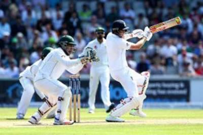 برمنگھم ٹیسٹ: پاکستانی ناقص بائولنگ، انگلینڈ کی برتری،311 رنز،5 وکٹیں باقی