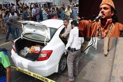 امجد صابری قتل: تمام ملزمان کی گرفتاری3روز میں متوقع