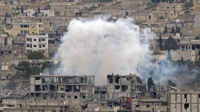 شام : بمباری' کلورین گیس کا حملہ' 33 افراد ہلاک : 29 ڈاکٹروں نے اوباما سے درخواست کر دی