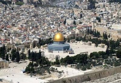بیسیوں یہودیوں کی عبادت کی آڑ میں مسجد اقصی کی بیحرمتی' محفل موسیقی کا انعقاد
