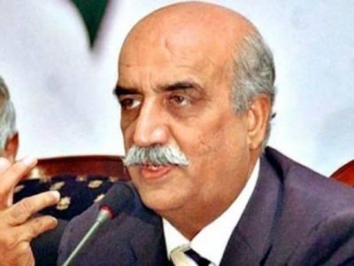 سانحہ کوئٹہ آیجنسیوںوزارت داخلہ کی ناکامی ہے نثار کی وجہ وزیر اعظم پر بھی شبہات بڑھ رہے ہیں:خورشید شاہ