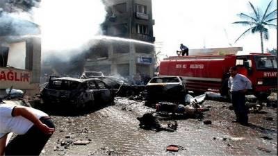 ترکی : تین بم دھماکے' اہلکاروں سمیت 12 ہلاک' 219 زخمی....
