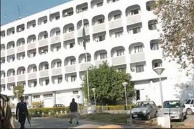وزیر اعظم مقبوضہ کشمیر میں ریاستی جبر کا معاملہ بھرپور طریقہ سے اگلے ماہ جنرل اسمبلی کے اجلاس میں اٹھائیں گے دفتر خارجہ