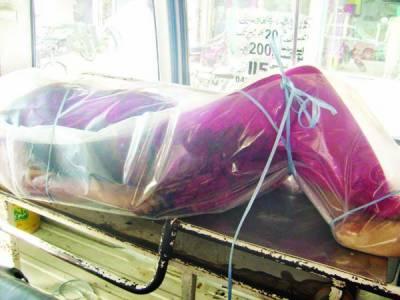 لٹن روڈ: بریف کیس سے خاتون کی تشدد زدہ نعش برآمد