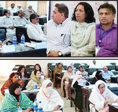 وومن یونیورسٹی ملتان میں پنجاب بھر کے کالجز پرنسپلز کی 5 روزہ تربیتی ورکشاپ شروع