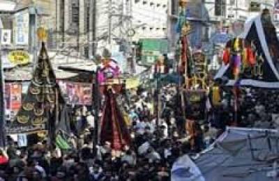 پنجاب میں 28 ہزار مجالس 7418 جلوس برآمد ہوئے