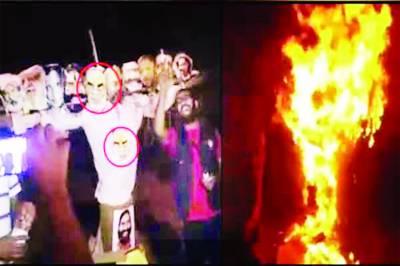 نئی دہلی : کشمیریوں پر مظالم کیخلاف طلبہ ری ریلی' مودی کا پتلا نذر آتش....