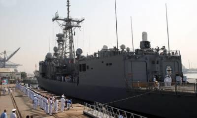 پاکستانیوں کے ساتھ کھلے سمندر میں مشترکہ مشقوں کیلئے ترک بحریہ کا جہاز کراچی پہنچ گیا
