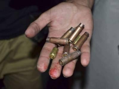 سابقہ رنجش پر دوگروہوں میں فائرنگ 'ایک شخص جاں بحق'3زخمی